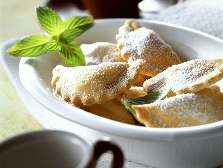 Süße Kichererbsen-Ravioli