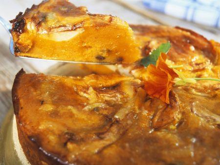 Süßer Kürbis-Apfel-Kuchen