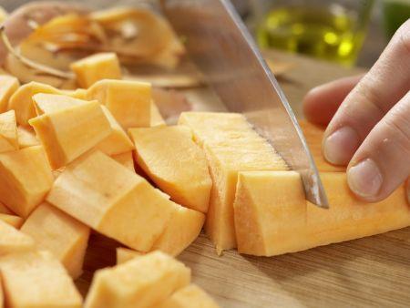 Süßkartoffel-Kokos-Suppe: Zubereitungsschritt 3