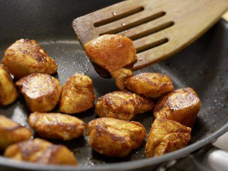 Süßkartoffel-Kokos-Suppe: Zubereitungsschritt 7