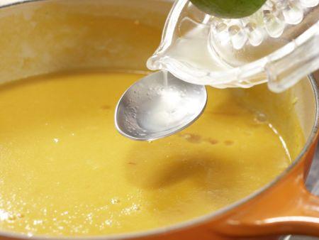 Süßkartoffel-Kokos-Suppe: Zubereitungsschritt 8
