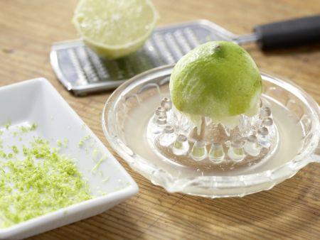 Süßkartoffeln mit Spinatsalat: Zubereitungsschritt 5
