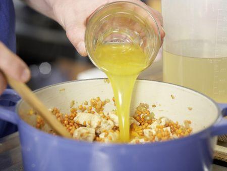 Suppe mit roten Linsen: Zubereitungsschritt 5