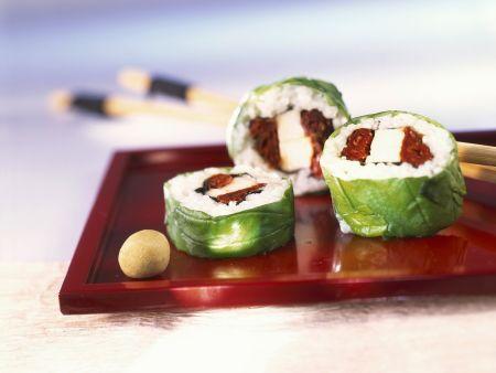 Sushi auf italienische Art