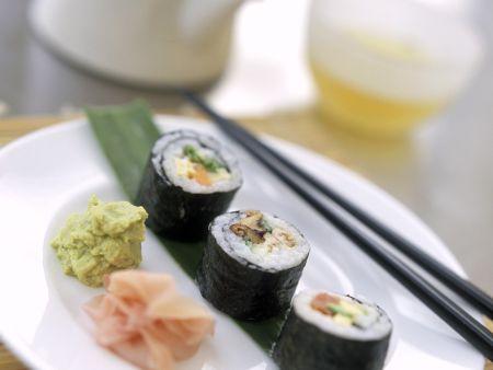 Sushi-Röllchen