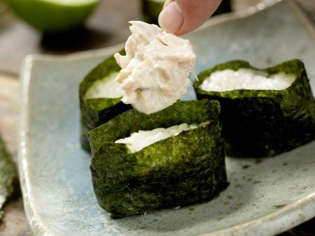 Sushi-Schiffchen: Zubereitungsschritt 10