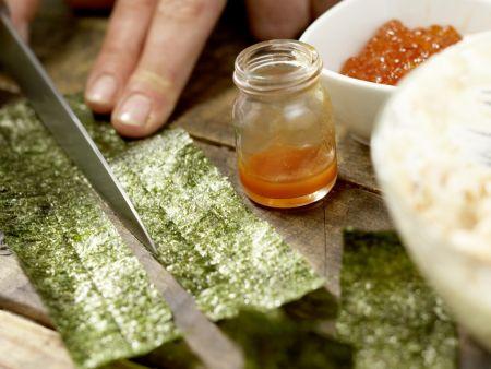 Sushi-Schiffchen: Zubereitungsschritt 6