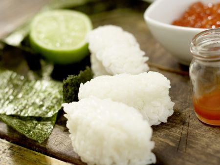 Sushi-Schiffchen: Zubereitungsschritt 7