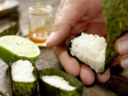 Sushi-Schiffchen: Zubereitungsschritt 8
