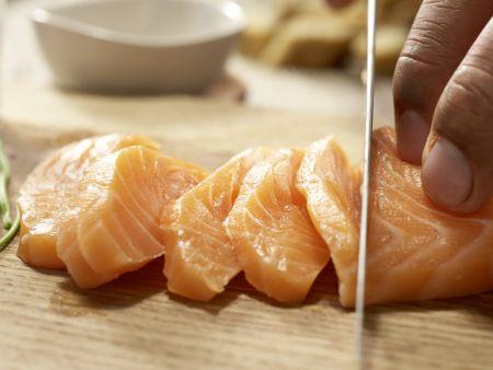Sushi aus der Schüssel: Zubereitungsschritt 11