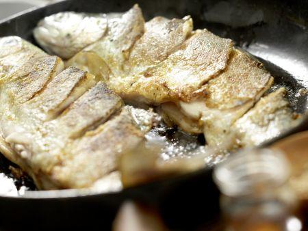 Szechuan-Forelle: Zubereitungsschritt 6