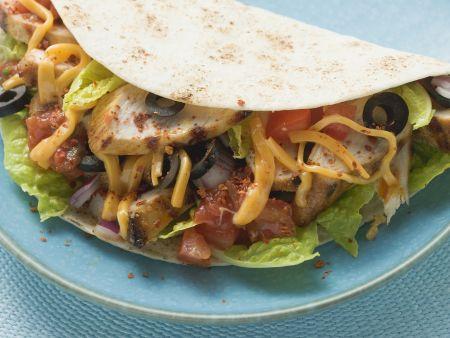 Taco mit Geflügel