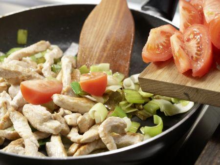 Tacos mit Putenfleisch: Zubereitungsschritt 7