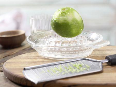 Tagliatelle und marinierter Lachs: Zubereitungsschritt 5