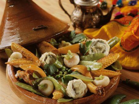 Rezept: Tajine mit Hähnchen und Gemüse