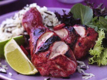 Tandoori-Hähnchen vom Grill