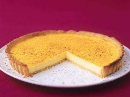 Tarte mit Puddingfüllung (Custard Tart)