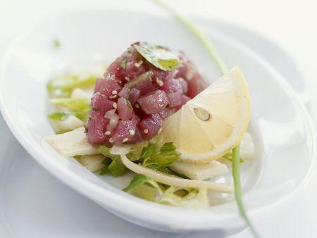 Tatar vom Thunfisch