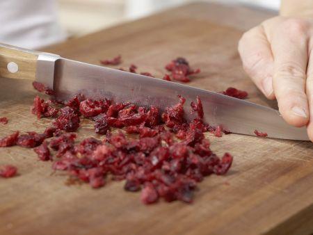 Teigschnecken mit Pfirsichen: Zubereitungsschritt 3