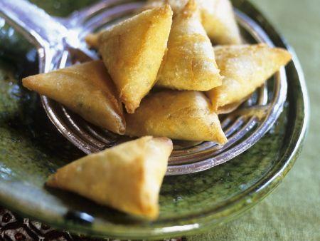 Teigtaschen auf marokkanische Art