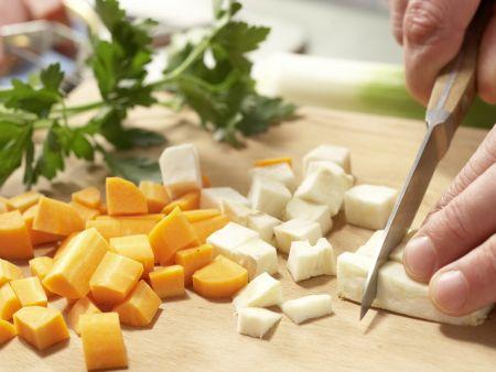 Tellersülze mit Kassler: Zubereitungsschritt 2