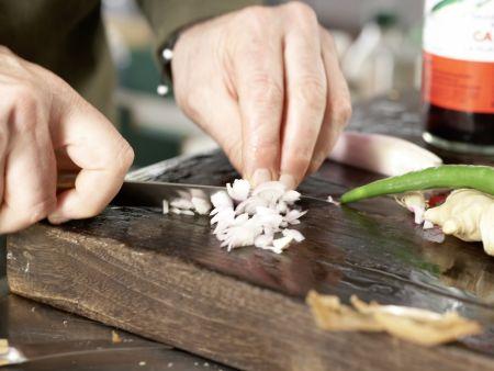 Thai-Garnelenbällchen: Zubereitungsschritt 2