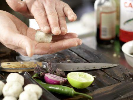 Thai-Garnelenbällchen: Zubereitungsschritt 5