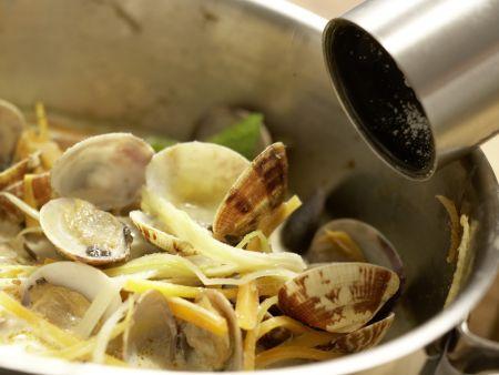 Thai-Muscheltopf: Zubereitungsschritt 7