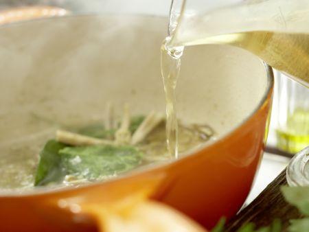 Thai-Suppe: Zubereitungsschritt 5