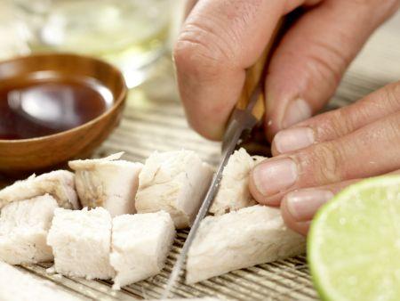 Thailändischer Hähnchensalat: Zubereitungsschritt 4