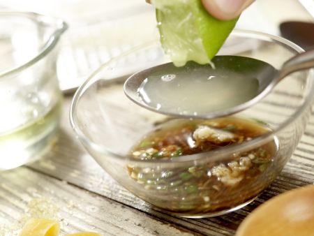 Thailändischer Hähnchensalat: Zubereitungsschritt 7