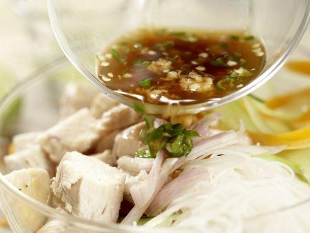 Thailändischer Hähnchensalat: Zubereitungsschritt 9