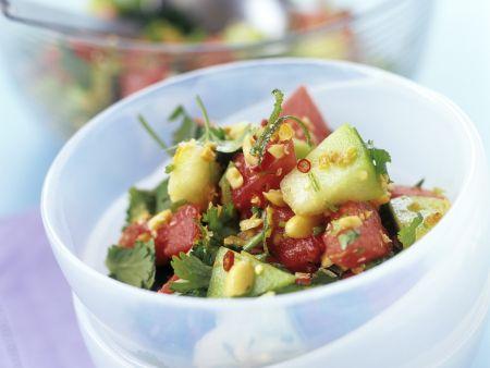 Thailändischer Melonensalat