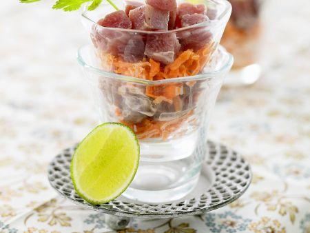Thunfisch-Möhrensalat