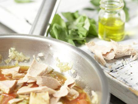 Thunfisch-Pasta: Zubereitungsschritt 7