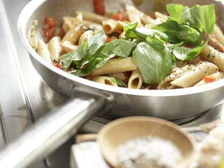 Thunfisch-Pasta: Zubereitungsschritt 8