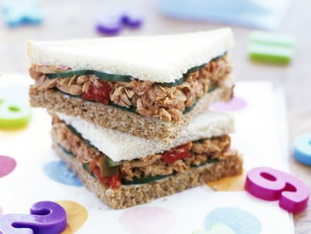 Rezept: Thunfisch-Sandwichs