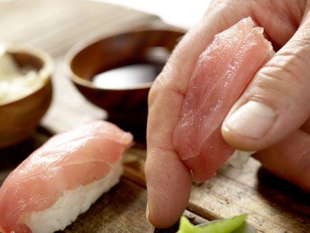 Thunfisch-Sushi: Zubereitungsschritt 5