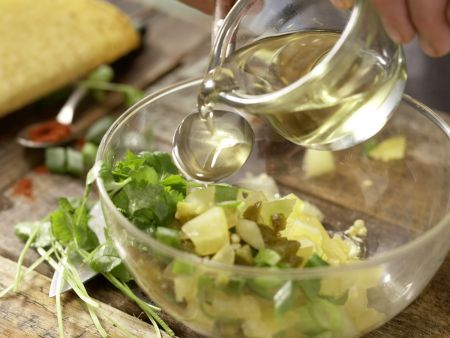 Thunfisch-Tacos: Zubereitungsschritt 2