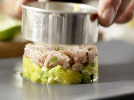 Thunfisch-Tatar: Zubereitungsschritt 12