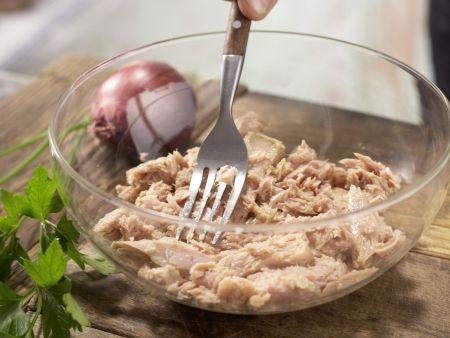 Thunfisch-Zitronen-Pasta: Zubereitungsschritt 1