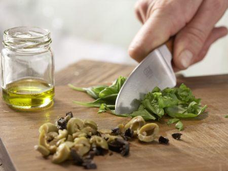 Thunfisch-Zucchini-Röllchen: Zubereitungsschritt 2
