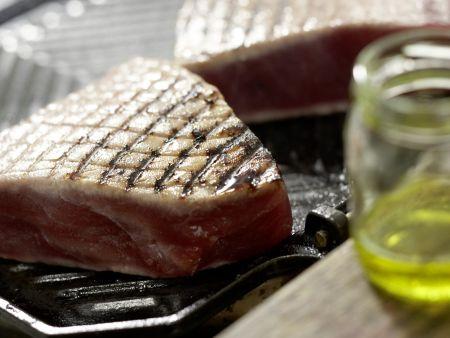 Thunfischfilets auf algerische Art: Zubereitungsschritt 9