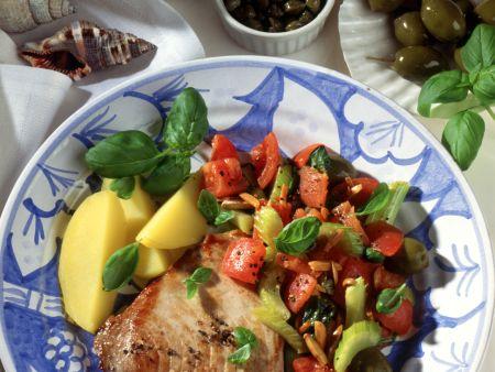 Thunfischkotelett