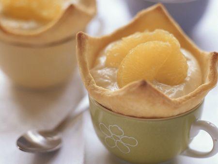 Rezept: Törtchen mit Orangencreme