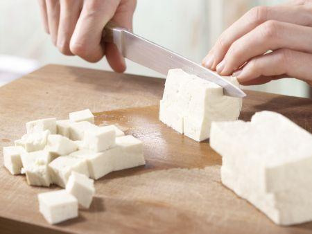 Tofu-Buletten: Zubereitungsschritt 1