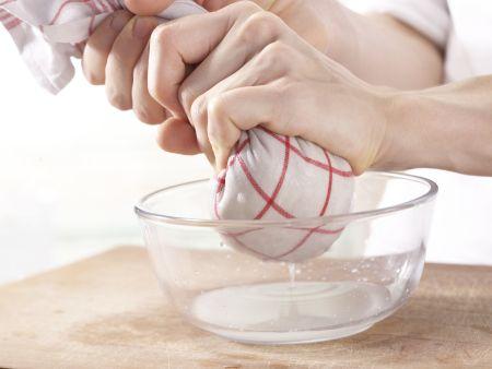Tofu-Buletten: Zubereitungsschritt 2