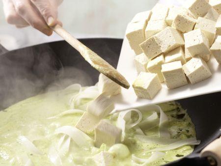 Tofu-Curry: Zubereitungsschritt 8