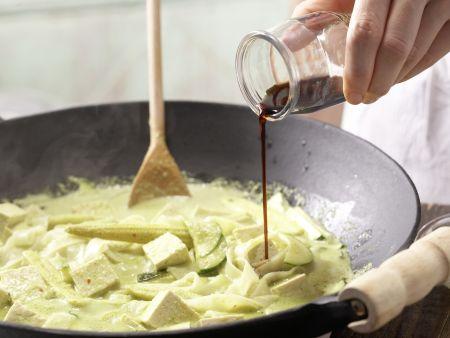 Tofu-Curry: Zubereitungsschritt 9