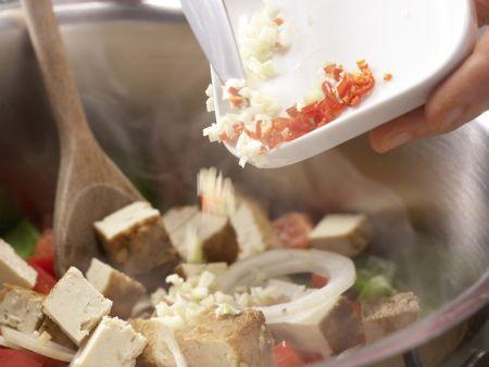 Tofu-Gemüse-Curry: Zubereitungsschritt 6